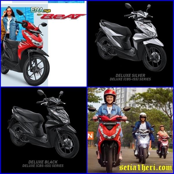 Tampilan baru All New Honda BeAT CBS ISS Deluxe series tahun 2020 brosis