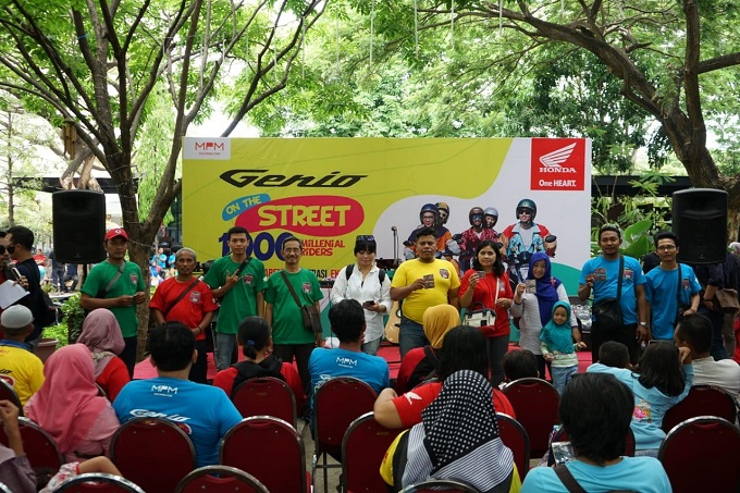Wow 1000 Millenial join Genio On The Street di Kota Pahlawan tahun 2020 (5)