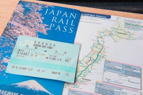 Info penting Japan Rail Pass