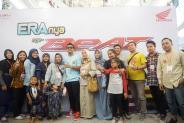 Istimewa Gathering spesial consumer pada peluncuran Honda BeAT 2020 di royal plaza (7)