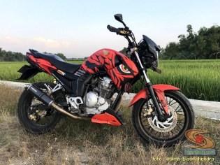 Modifikasi evolusi Yamaha Scorpio tahun 2012 asal Kota Madiun (13)