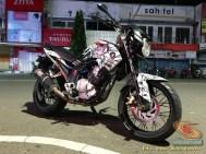 Modifikasi evolusi Yamaha Scorpio tahun 2012 asal Kota Madiun (8)
