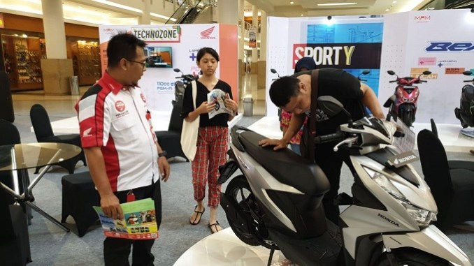 Wow ada Promo Khusus Di Launching Honda BeAT Royal Plaza tahun 2020 (1)