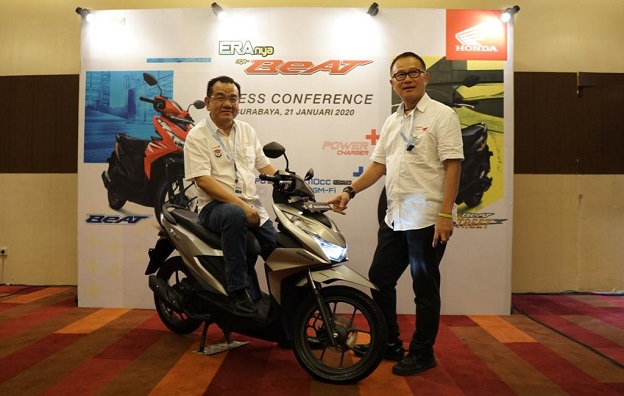 petinggi MPM pada launching honda beat 2020