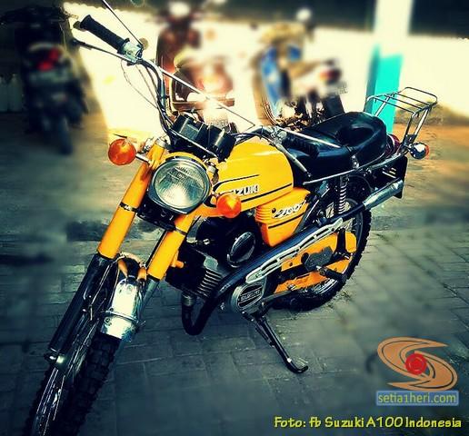 Kumpulan foto motor jadul Suzuki A100