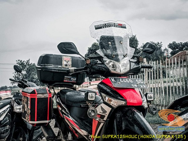 Kumpulan modifikasi konsep touring Honda Supra X 125 (20)