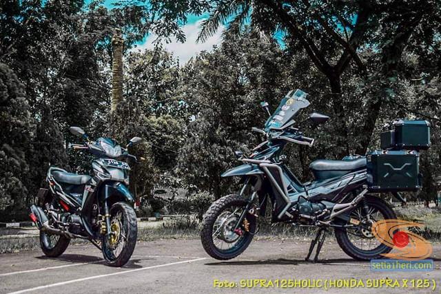 Kumpulan modifikasi konsep touring Honda Supra X 125 (4)