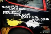 Kumpulan tulisan stiker bak truk dan kata kata mutiara untuk sopir (3)