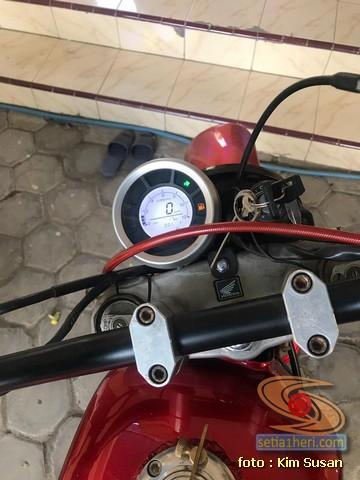 Modifikasi Yamaha Scorpio gahar asal Madiun gans....