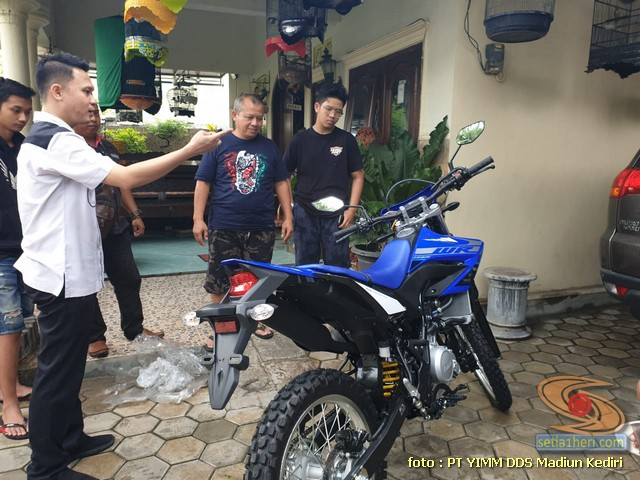 Selamat Bro Zakky, Pemilik Pertama motor trail Yamaha WR 155 R di Ngawi, Jawa Timur