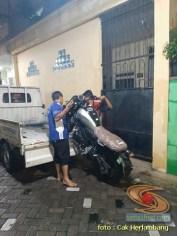 motor baru Yamaha XSR 155 di Kota Surabaya punya cak herlambang