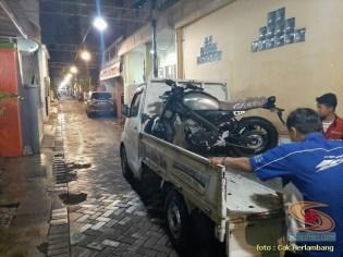 motor baru Yamaha XSR 155 di Kota Surabaya