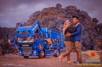 Foto-foto prewed truk mania gans. (3)