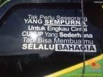Kata-kata mutiara seorang sopir atau driver Indonesia (5)
