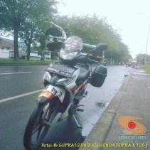 Kumpulan foto Honda Supra X 125 pakai tubular framre dan triple box gans.. (11)