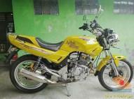 Kumpulan foto nostalgia Honda Tiger 2000 warna kuning brosis.. (1)