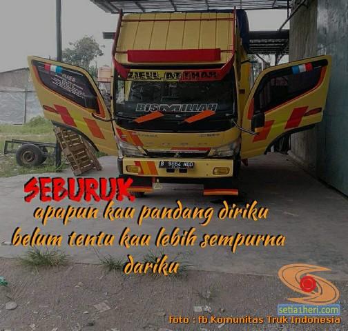 Kata - kata mutiara seorang sopir truk