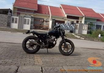 Kumpulan foto modifikasi Yamaha Scorpio menjadi scrambler atau japstyle (5)