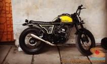 Kumpulan modifikasi Yamaha Scorpio menjadi scrambler atau japstyle (2)