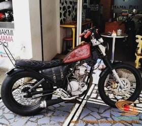 Kumpulan modifikasi Yamaha Scorpio menjadi scrambler atau japstyle (3)
