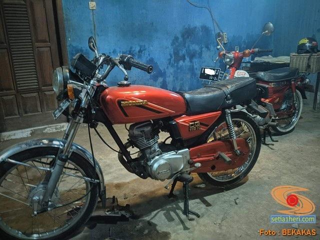 Obrolan tentang motor lawas Honda CG series (2)