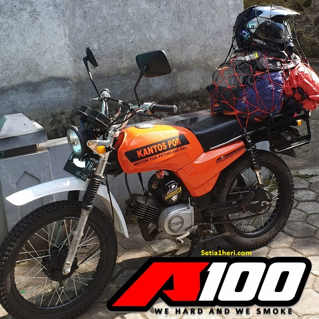 suzuki a100 versi turing orange