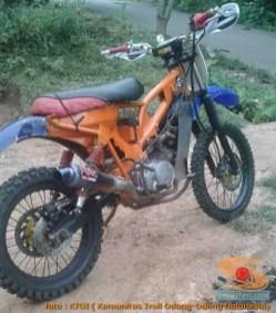 Honda C70 modif trail odong-odong alias bebek trail GTX (13)