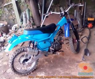 Honda C70 modif trail odong-odong alias bebek trail GTX (19)