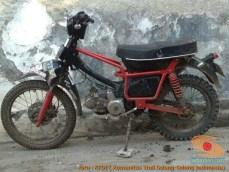 Honda C70 modif trail odong-odong alias bebek trail GTX (22)