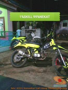 Honda C70 modif trail odong-odong alias bebek trail GTX (27)