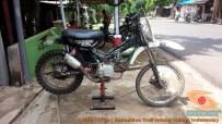 Honda C70 modif trail odong-odong alias bebek trail GTX (29)