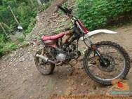 Honda C70 modif trail odong-odong alias bebek trail GTX (7)