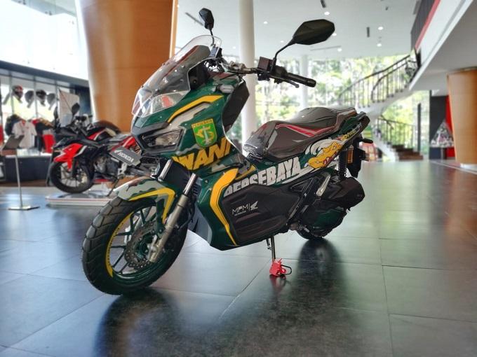 Intips Lebih dekat dengan Honda ADV150 ABS tahun 2020 livery Persebaya 2020 (11)