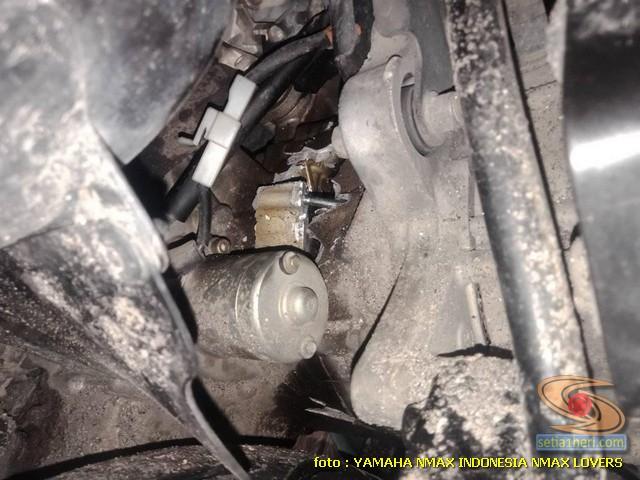blok Mesin atau crankcase Yamaha Nmax ini alami pecah pasca terjang banjir, berikut solusinya brosis (3)