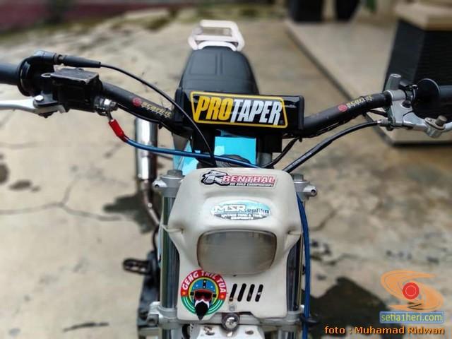 Modif Honda Win jadi Trail bore up asal Ciamis, Jawa Barat (4)