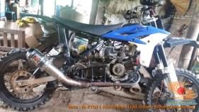 Modifikasi trail GTX bebek basis mesin Yamaha Vega tahun 2020 (17)