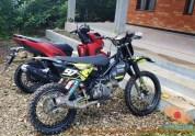 Modifikasi trail GTX bebek basis mesin Yamaha Vega tahun 2020 (32)