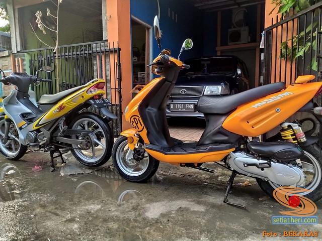 motor kymco di Indonesia
