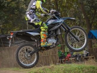 Menengok pebalap Atan Janatan asal Blitar Latihan Fisik dengan Yamaha WR 155 R tahun 2020 (3)