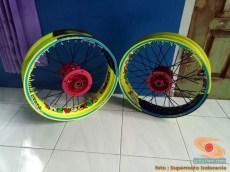 Cara repaint velg sepeda motor dengan baik dan benar bagi pemula.. (7)
