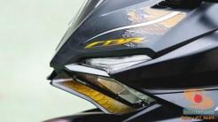 Gambar detail Honda CBR250RR SP Quick Shifter warna Special Edition Garuda X Samurai tahun 2020 (19)