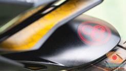 Gambar detail Honda CBR250RR SP Quick Shifter warna Special Edition Garuda X Samurai tahun 2020 (3)