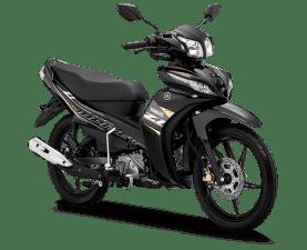 Jupiter Z1 tahun 2020 warna Metallic Black
