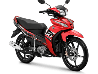 Jupiter Z1 tahun 2020 warna Metallic Red