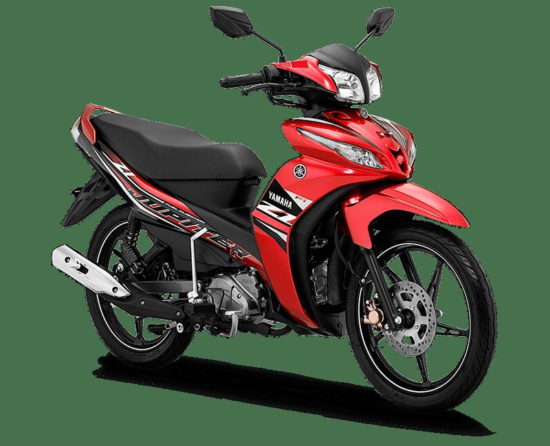 Jupiter Z1 tahun 2020 warna Metallic Red