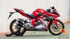 Konsep Modifikasi Honda CBR250RR SP Quick Shifter tahun 2020
