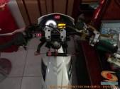 Modifikasi suzuki satria fu pakai stabilizer atau steering dumper brosis (9)