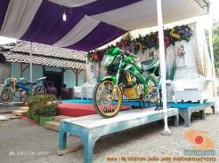 Motor-motor vijar yang jadi saksi di pelaminan dan pernikahan (13)