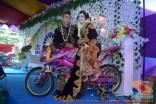 Motor-motor vijar yang jadi saksi di pelaminan dan pernikahan (1)