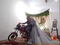 Motor-motor vijar yang jadi saksi di pelaminan dan pernikahan (18)
